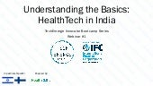 TechEmerge Webinar, Understanding the Basics: HealthTech in India