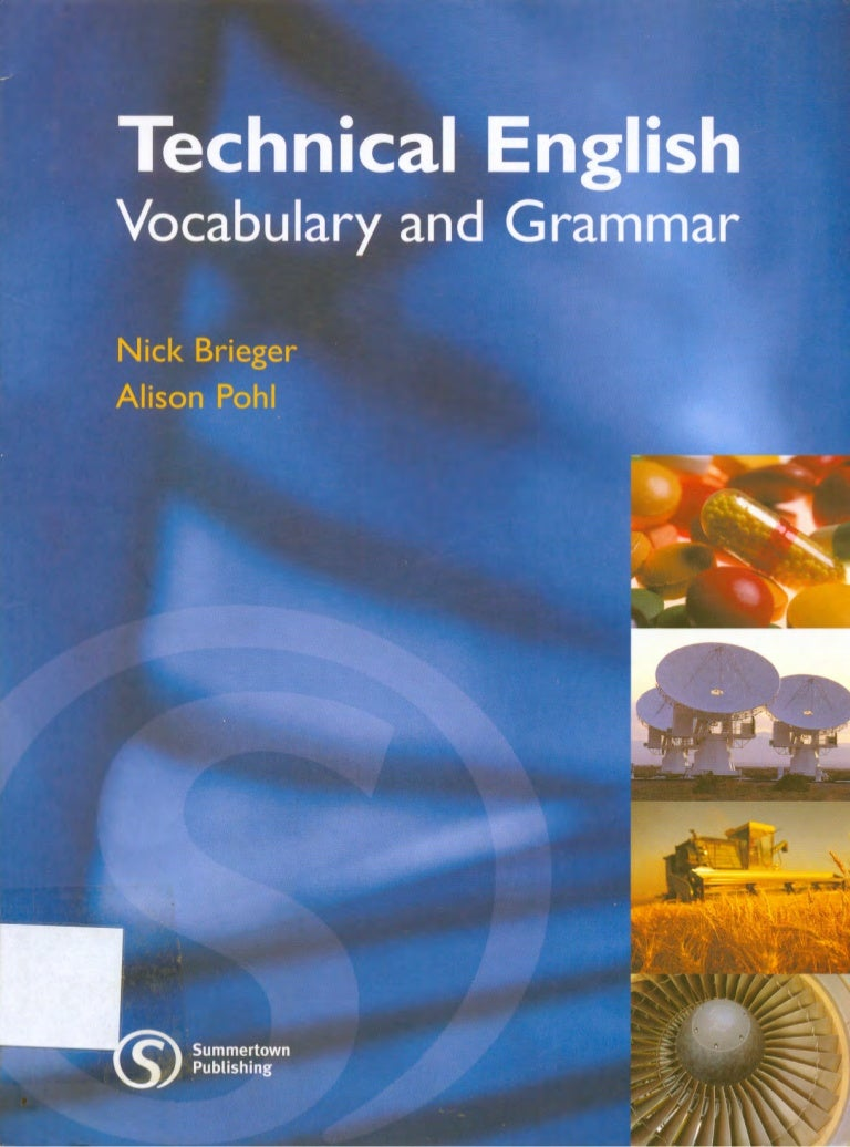 A Great Book - Technical English Vocabulary and Grammar