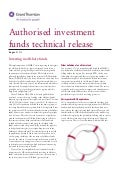 Authorised investment funds technical release 2012