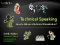 Technical Speaking Guidelines