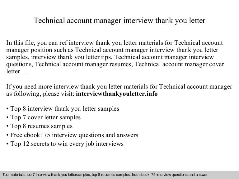 account management interview questions