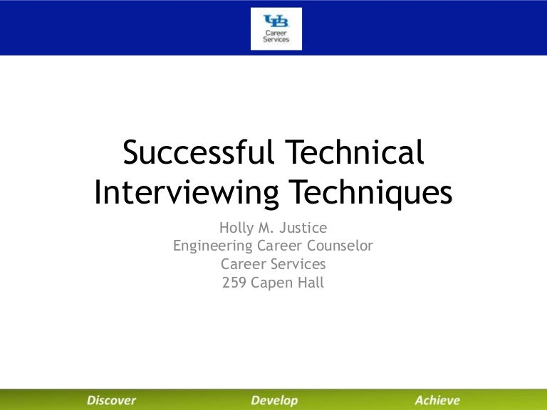 university at buffalo career services technical interviewing work