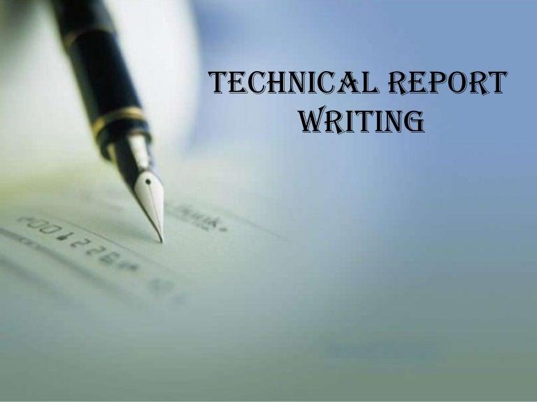 Technical Report Writing   Mark Powell Scientific Ltd