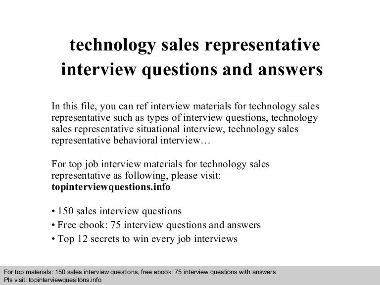 sales interview questions - It Manager Interview Questions And Answers