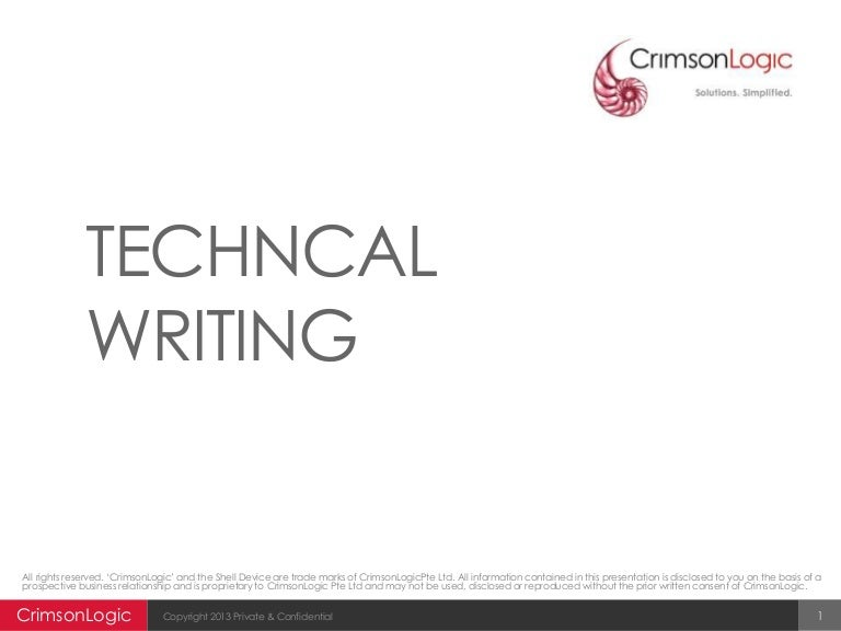 Technical writing training 2013 14 (2)