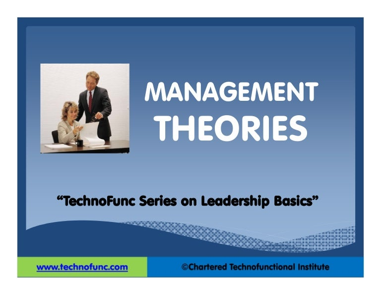 management theories Gallery