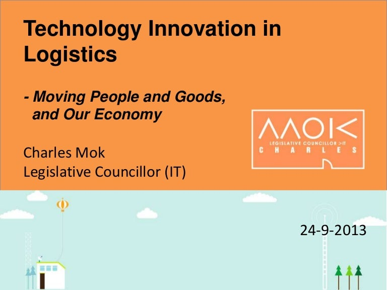 Technology Management Image: Technology Innovation In Logistics