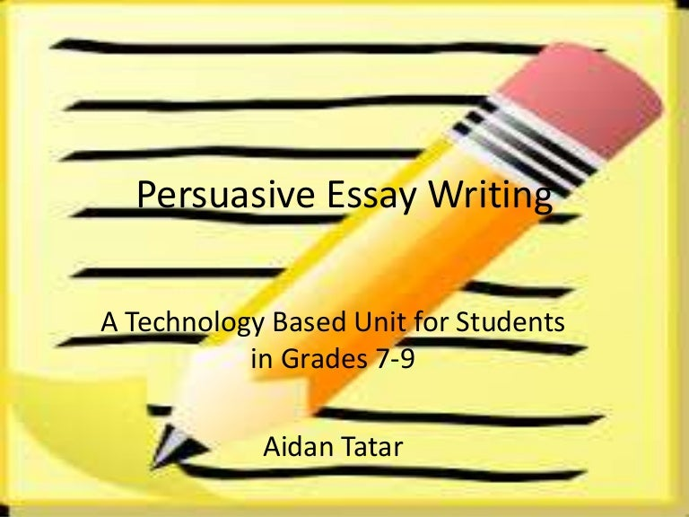 Persuasive Writing Lesson PowerPoint Pinterest