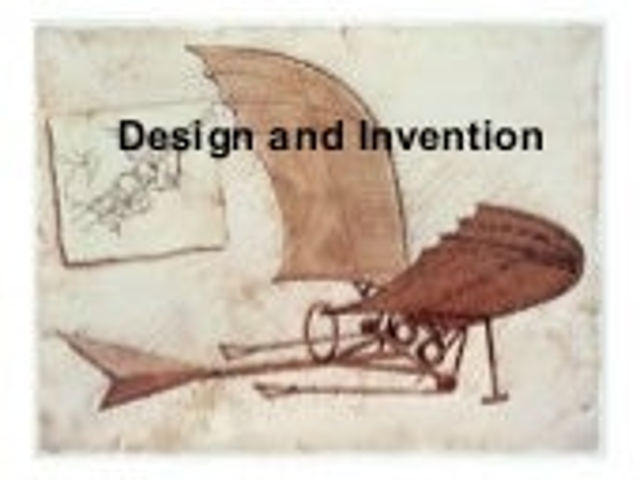 Design An Invention