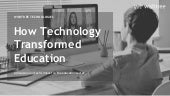 Technology transformation in education - Wishtree Technologies