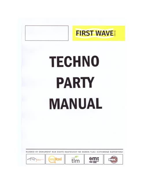Techno Party Manual