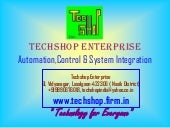 Techshop automation