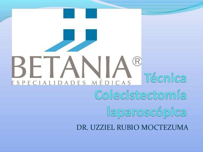 Tecnica colecistectomía laparoscópica