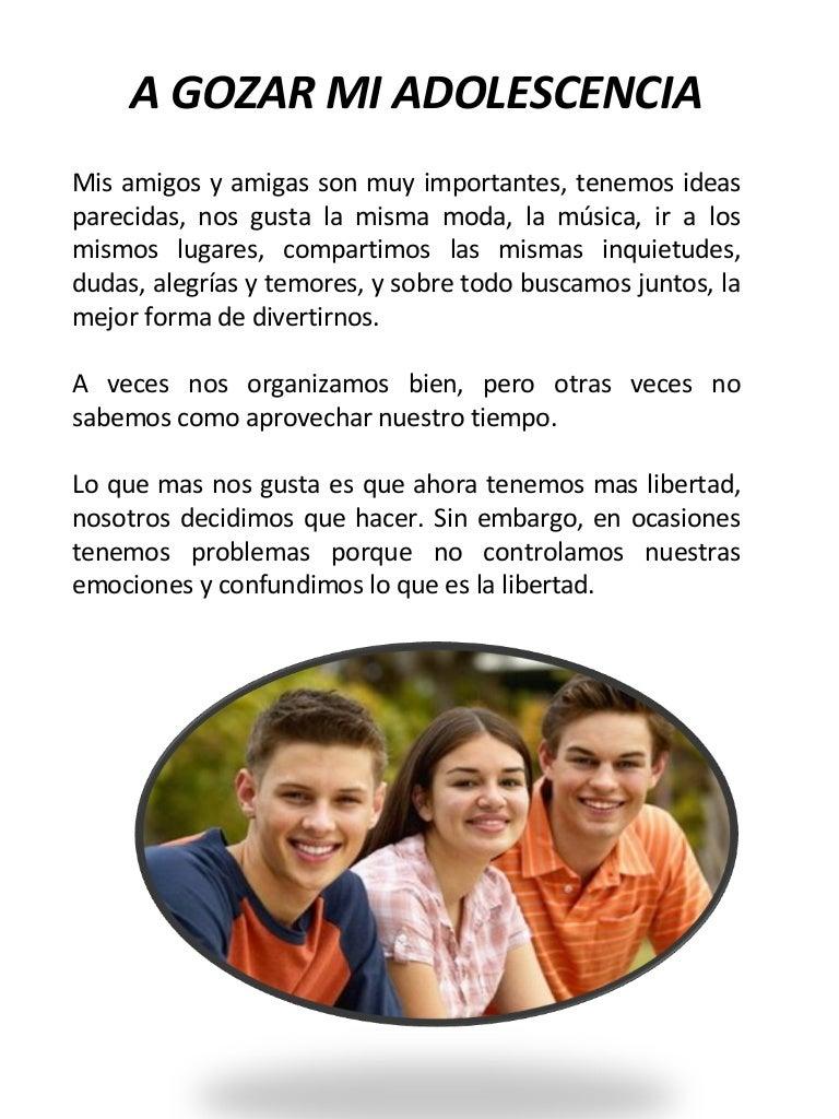Temas De Interes Para El Adolescente