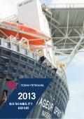 Teekay Petrojarl Sustainability Report 2013