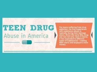 Teen drug abuse in america