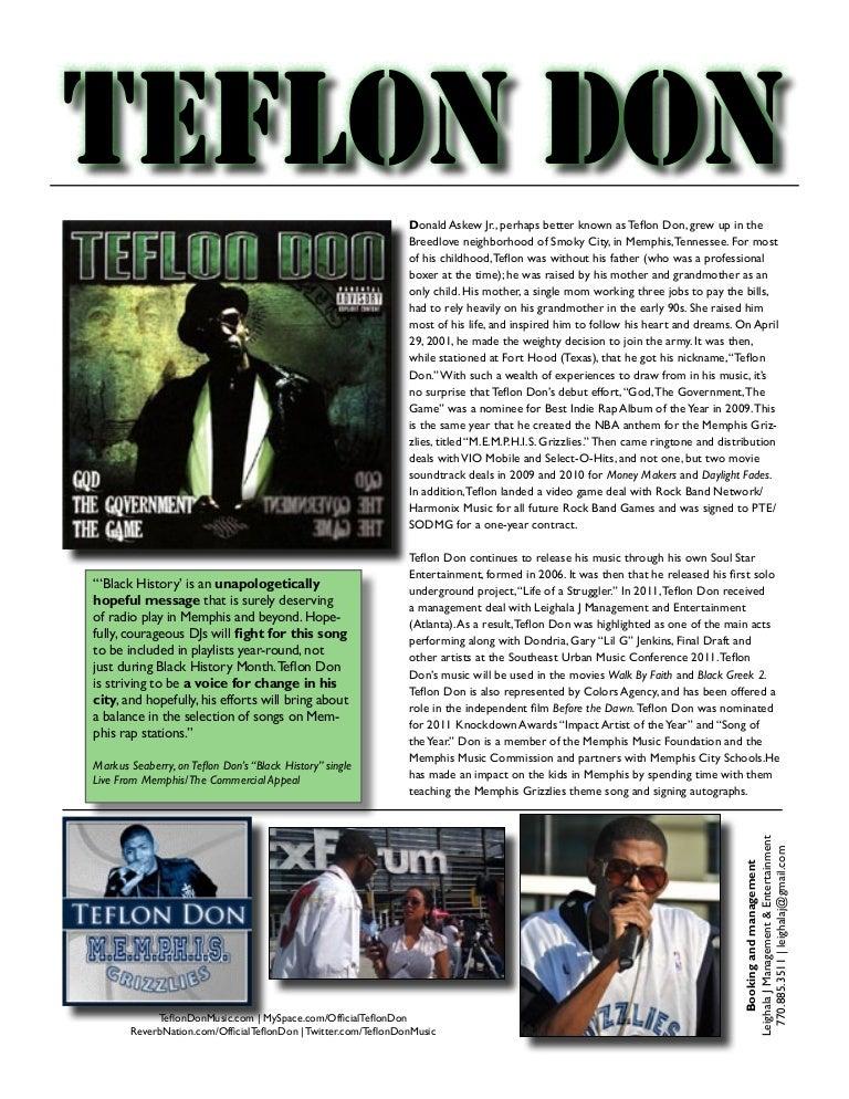 Teflon One Sheet