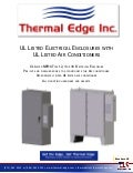 Thermal Edge Enclosure Packaged Systems Brochure 2013