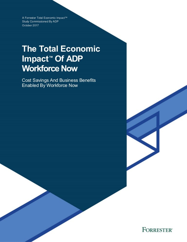 Total Economic Impact of ADP Workforce Now