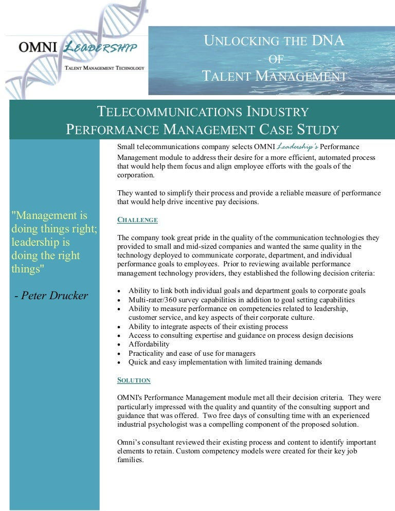 subjective performance measurement multi case study based Read subjective adjustments to objective performance measures: the influence of prior performance, accounting, organizations and society on deepdyve, the largest.