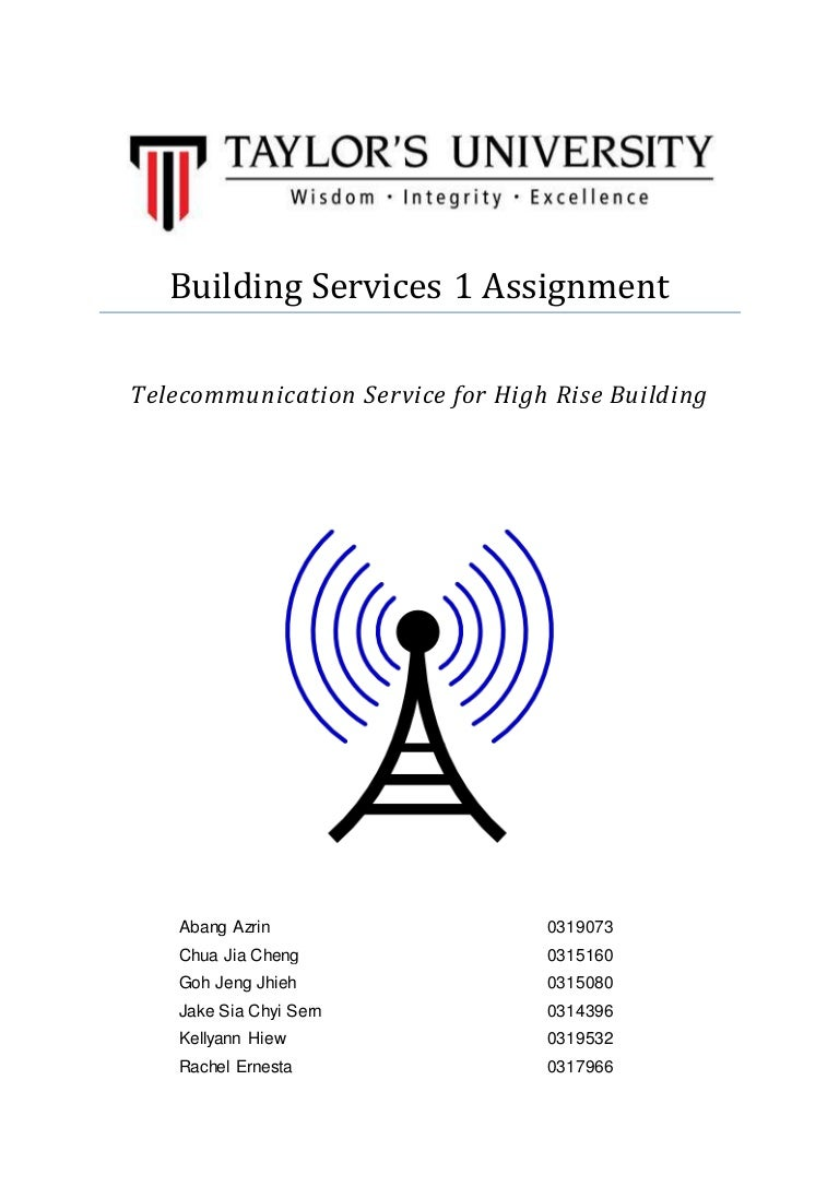 Telecommunication For High Rise Building Tel Cable Wiring Diagram