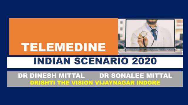 Telemedicne in india 2020