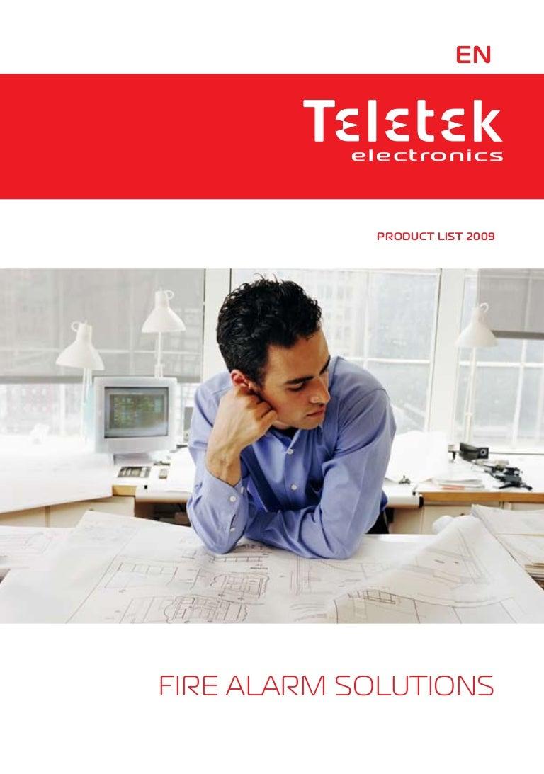 Teletek Fire Catalog Eng An Expandable Multi Zone Modular Burglar Alarm