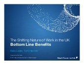 Telework in the UK: The Bottom line benefits