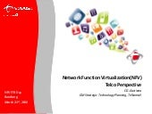 Network Function Virtualization - Telkomsel Perspective (SDN NFV Day ITB 2016)