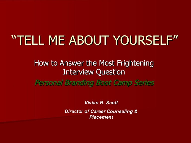 tell about yourself essay interview Tell me about yourself the first & best question for any hr interview the answer to this basically sets the tone of rest of the interview good news is.
