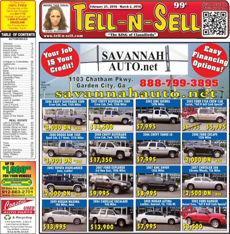 Tell n-sell feb 25 to mar 02