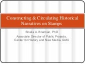 Telling & Circulating History on Stamps
