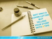 Tell Your #Story In Your #CoverLetter