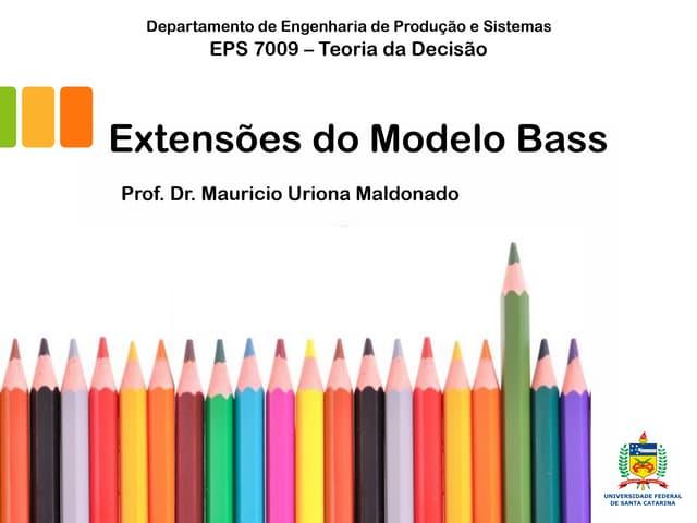 Extensões do Modelo Bass