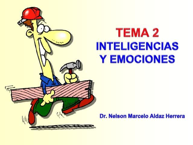 Tema 2 inteligencia emocional