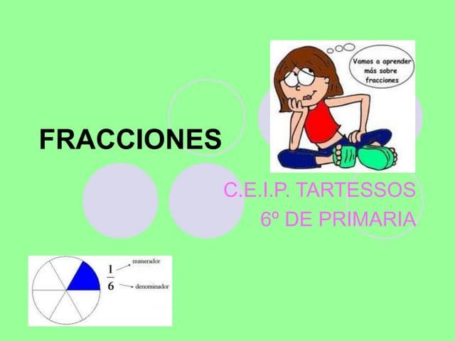 Tema6 las fracciones