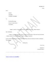 SlideShare  Letter Of No Objection Template