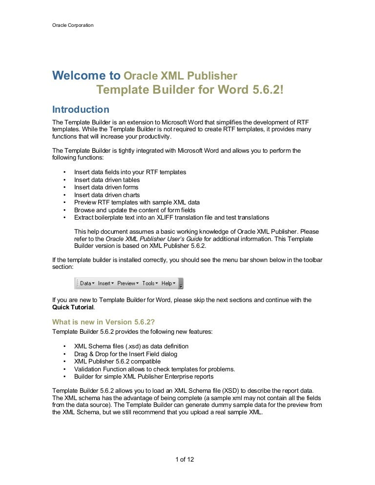template builder for word tutorial