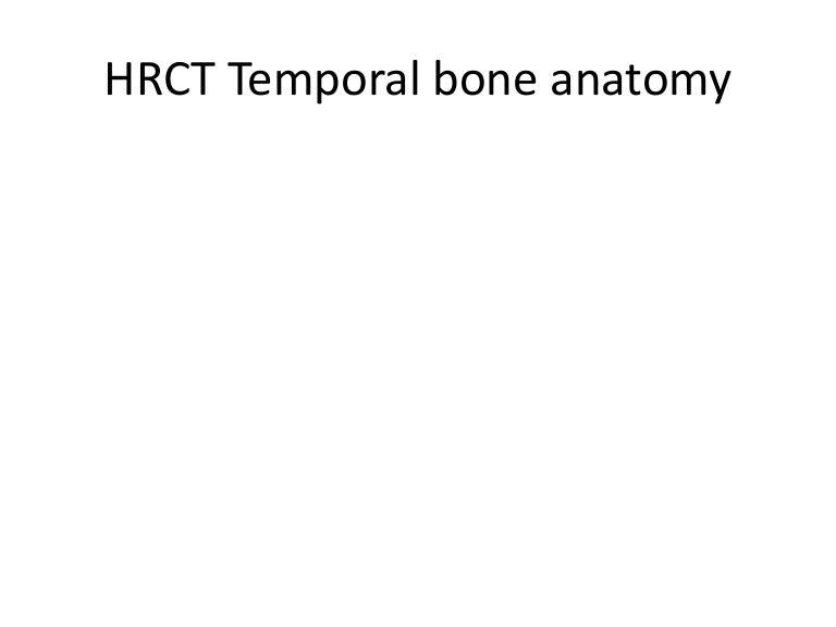 Temporal Bone Radiology