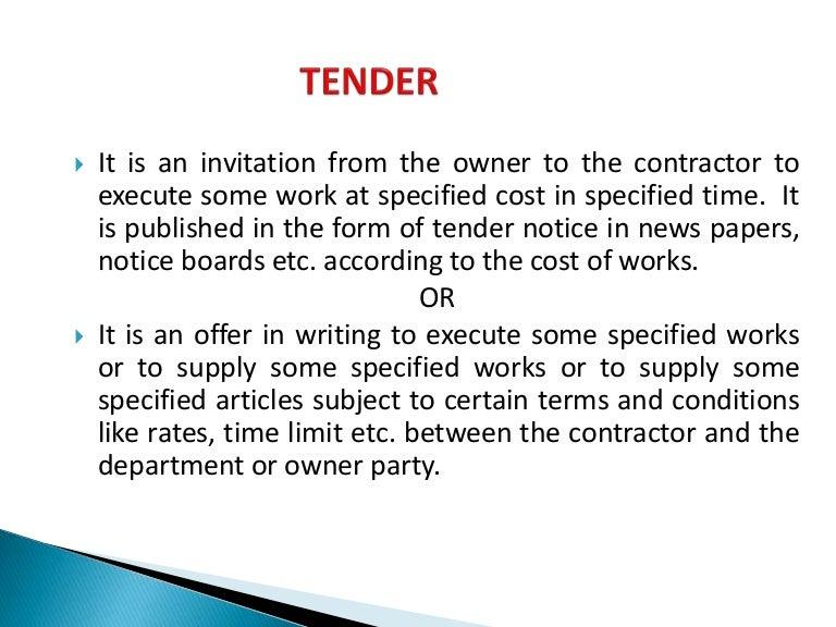 Tenders contract arti stopboris Image collections