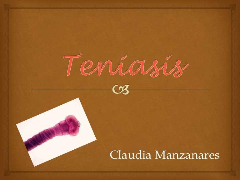 sintomas y tratamiento de la teniasis