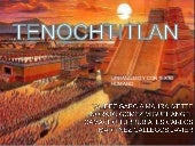 Tenochtitlan final
