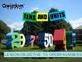 Tens and units - qwizdom ppt
