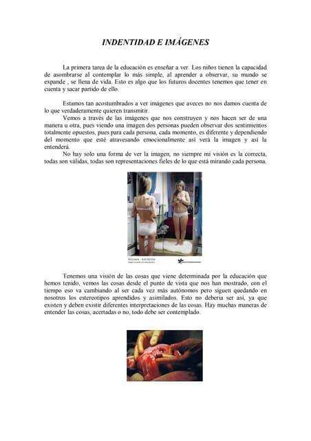 Teoría.identidad e imagenes