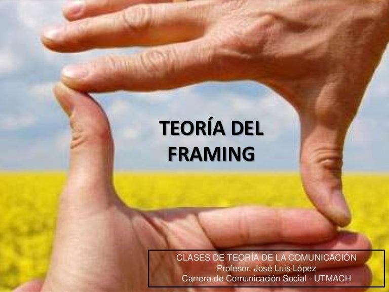 Teoría del framing - Teoria del encuadre