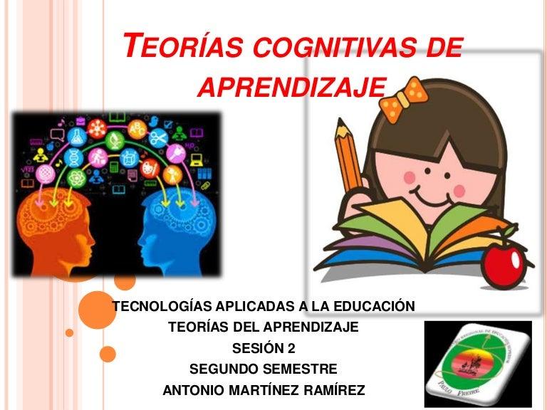 Teorias Cognitivas De Aprendizaje Sesion 2