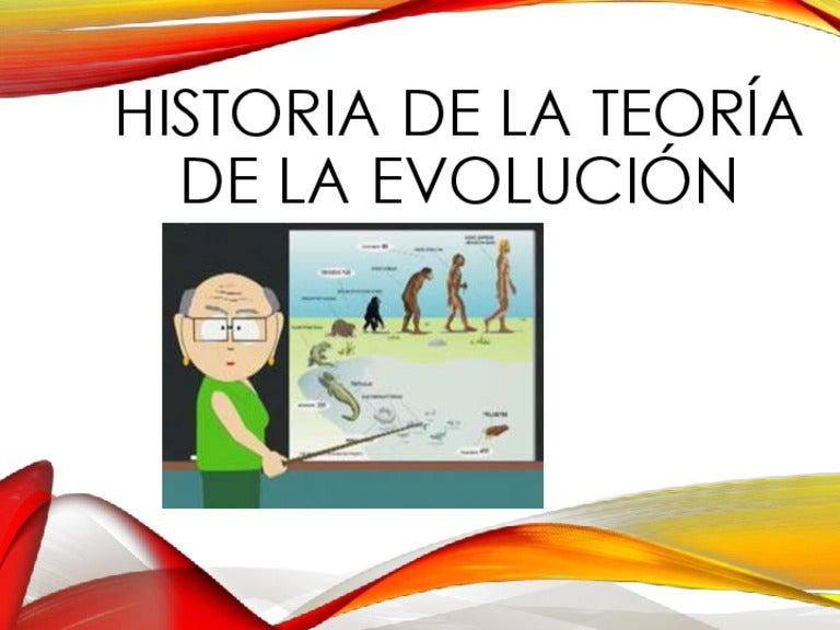 Teorías de la evolución de las especies- Actividades.