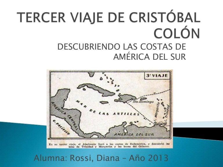 Tercer viaje de cristóbal colón - Rossi Diana