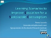Learning Scenarios to improve Education for a Sustainable Consumption