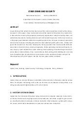 Research paper on cctv